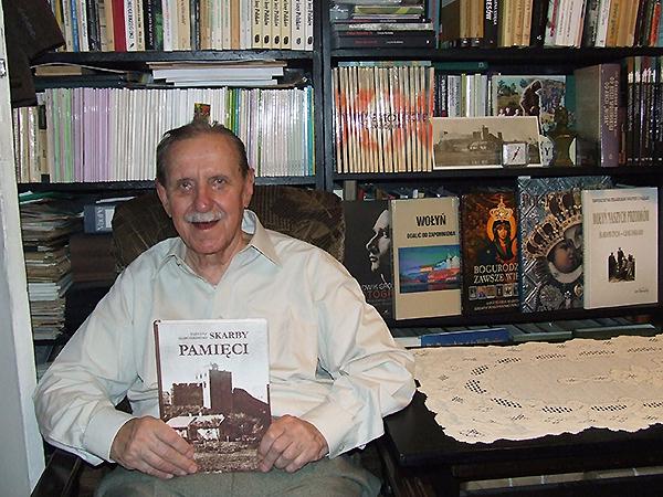 Tadeusz Marcinkowski - autor wspomnień (Fot. z archiwum T. Marcinkowskiego)