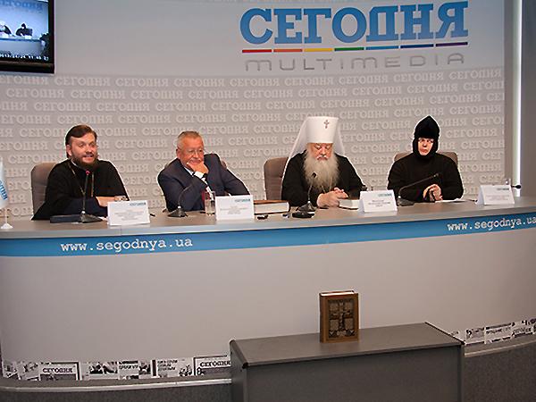 Prezentacja reprintu w Kijowie (Fot. Agnieszka Ratna)