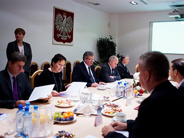 Posiedzenie Rady Bezpieczeństwa Narodowego RP