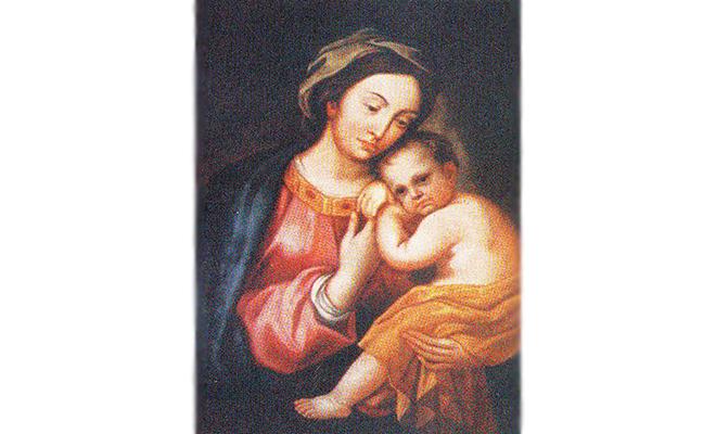 Historia obrazu Matki Boskiej Mariampolskiej