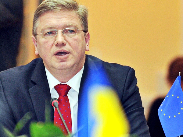 Ukraińska opozycja po spotkaniu z Fuele: Europa jest z nami