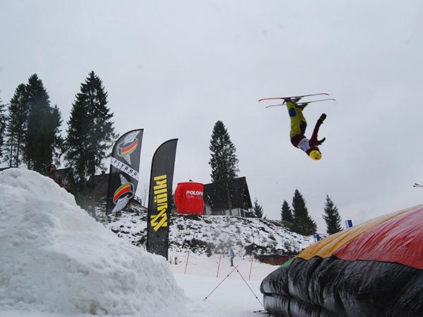 Gromadzyń - ulubione miejsce narciarzy (Fot. Konstanty Czawaga)