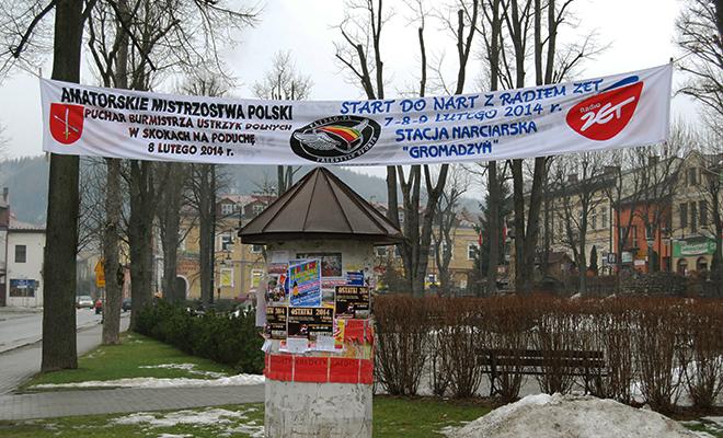 Zimowa stolica Bieszczad