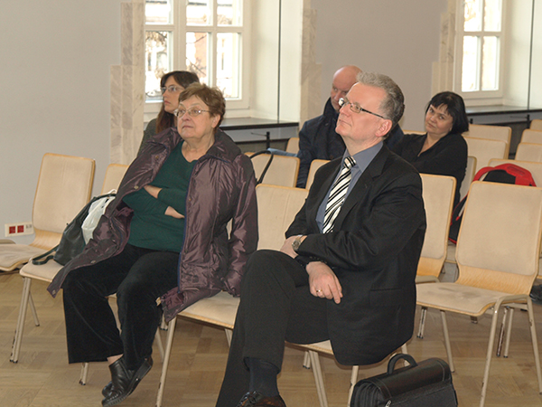 Podczas konferencji (Fot. Marcin Romer)