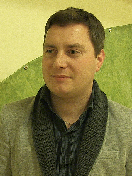 Marek Horbań, prezes LKS Pogoń Lwów (Fot. Eugeniusz Sało)