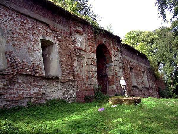 Ruiny pałacu Jabłonowskich (Fot. Marcin Romer)