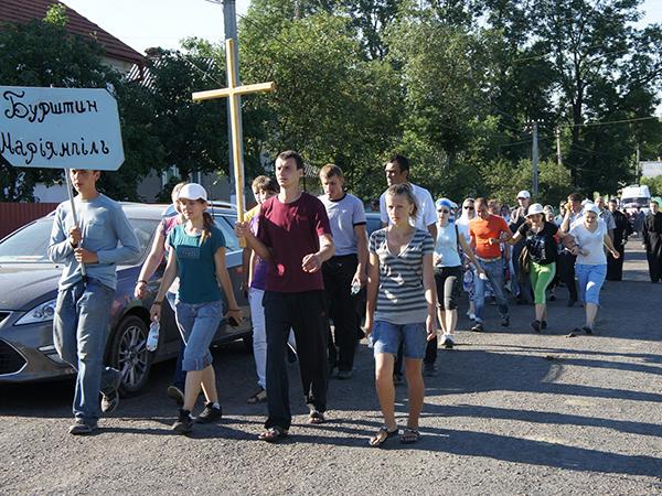 Do miasta znów idą pielgrzymki (Fot. Marcin Romer)