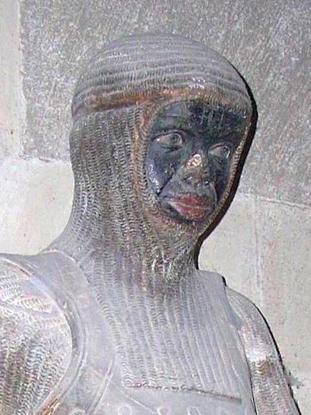 Rzeźba św. Maurycego z katedry w Magdeburgu (Fot. wikipedia)