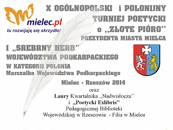 X Ogólnopolski i Polonijny Turniej Poetycki w Mielcu