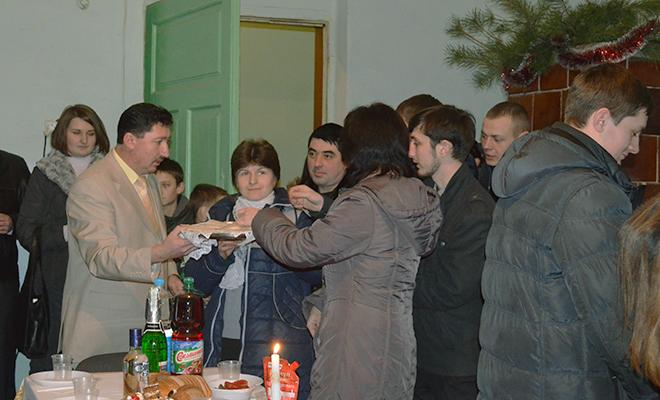 Spotkanie opłatkowe w Łanowicach