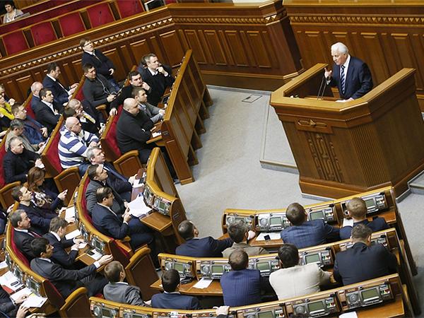 W ukraińskim parlamencie bez porozumienia, przerwa w obradach