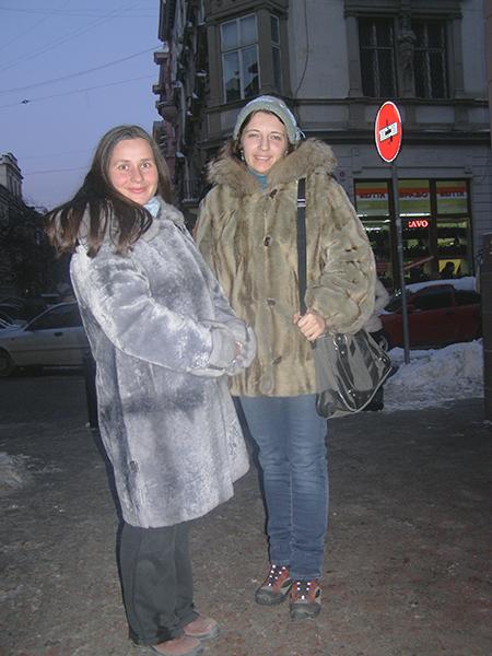 Ksenia Borodin i Iwanna Honak (Fot. Jurij Smirnow)