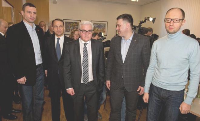 Rada Społeczna Majdanu poparła podpisanie porozumienia