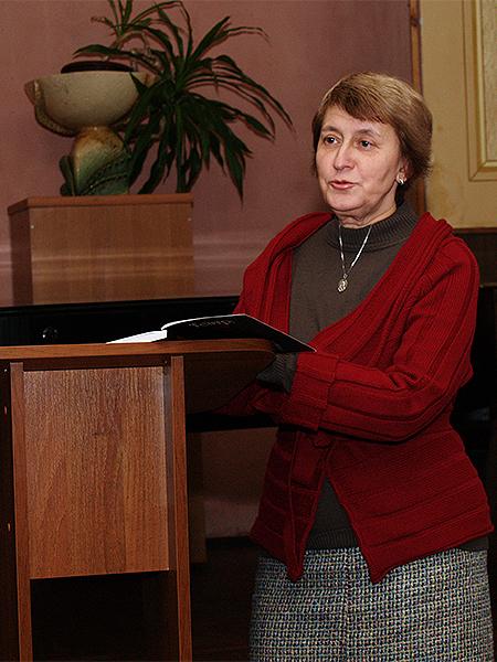 Dr hab. Switłana Maksymenko (Fot. Eugeniusz Sało)