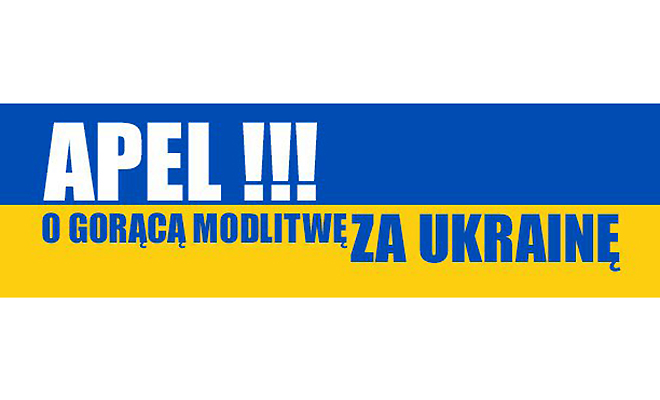 Módlmy się dalej za Ukrainę!