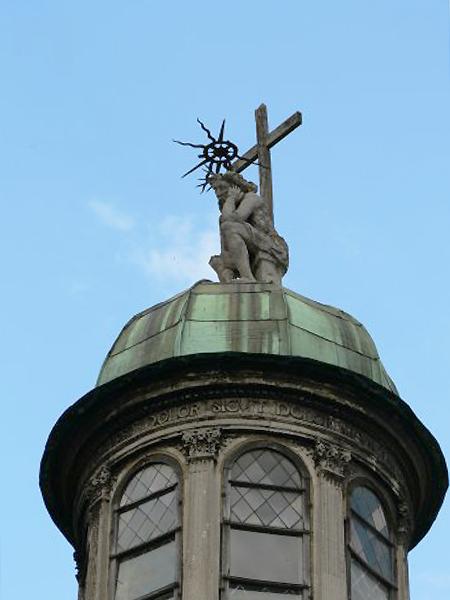 Chrystus Frasobliwy na Kaplicy Boimów, 1609-1615 (Fot.commons.wikimedia.org)