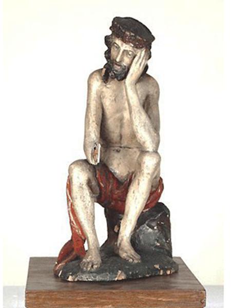 Chrystus Frasobliwy, 1500-1515. Budziszyn, Niemcy (Fot. minerva.kunstgesch.uni-halle.de)