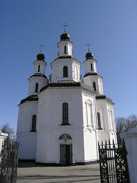 Cerkiew Przemienienia Pańskiego w Iziumie (Fot. Dmytro Antoniuk)