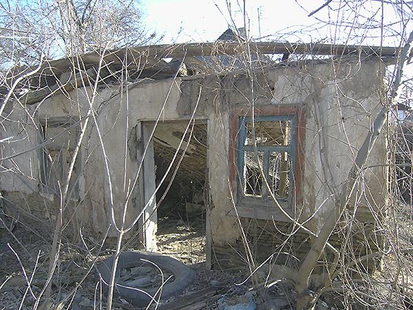 Dom, w którym mieszkał z babcią przyszły prezydent (Fot. Dmytro Antoniuk)Dom, w którym mieszkał z babcią przyszły prezydent (Fot. Dmytro Antoniuk)