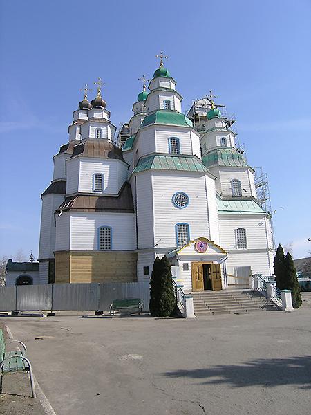 Unikatowa cerkiew św. Trójcy w Nowomoskiewsku (Fot. Dmytro Antoniuk)