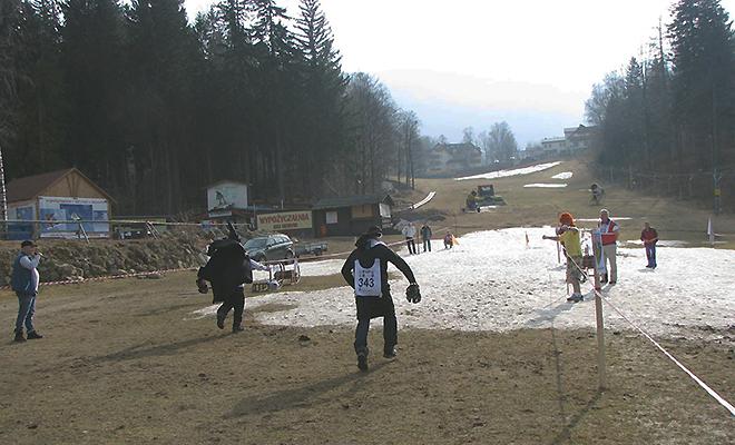 Polonia na lodzie i śniegu