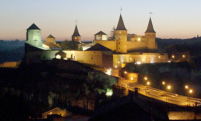 Zamek obronny w Kamieńcu Podolskim (Fot. Krzysztof Szymański)