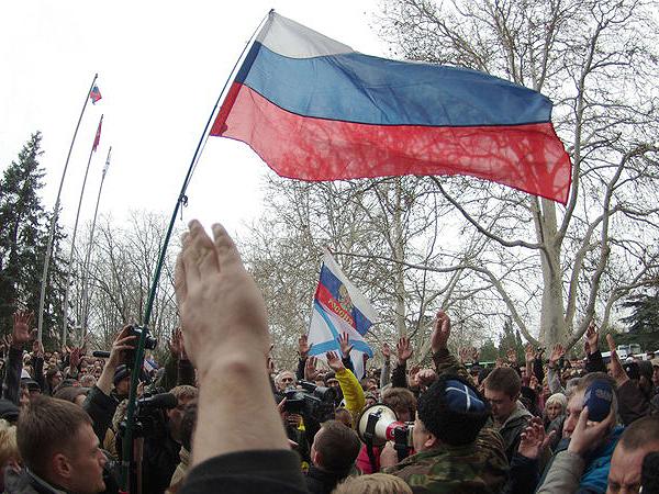 Parlament Krymu za przyłączeniem do Federacji Rosyjskiej