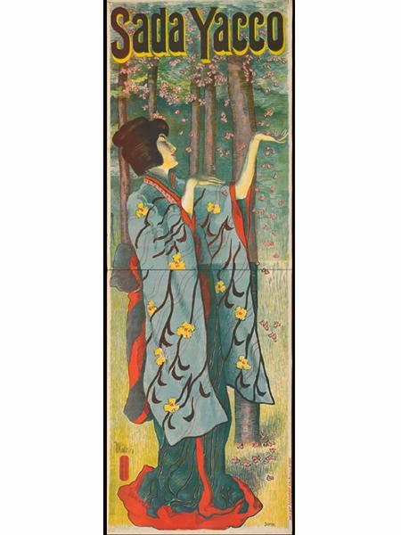 Plakat Alfredo Mullera z 1899 roku. Kunstbibliothek, Staatliche Museen zu Berlin (Fot. zszywka.pl)