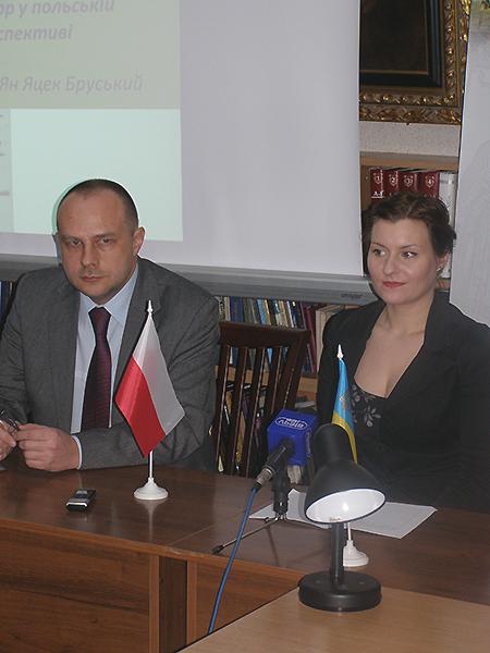 Jan Jacek Burski i Wiktoria Malicka (Fot. Jurij Smirnow)