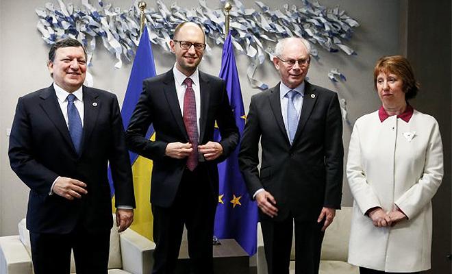 UE i Ukraina podpisały polityczną część umowy stowarzyszeniowej
