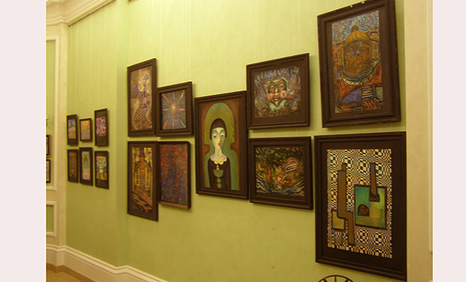 Wystawa prac Lidii Busłajewej