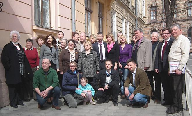 Spotkanie dziennikarzy mediów polskich na Ukrainie