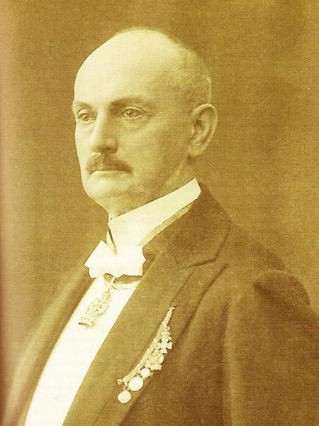 Stanisław Rawicz-Kosiński (1847-1923) – inżynier, budowniczy linii kolejowych w Galicji (Fot. archiwum Stanisława Niciei)