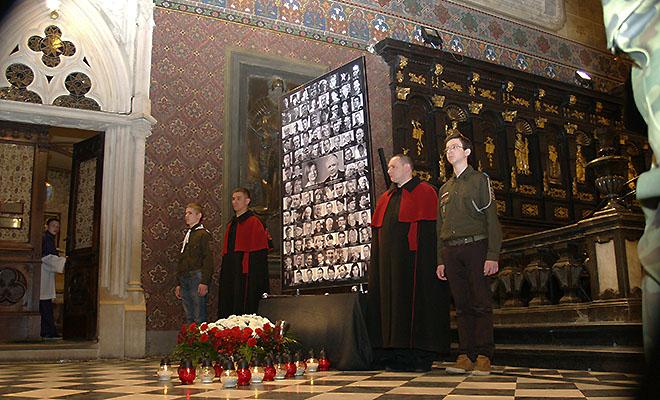 Modlitwa za ofiary katastrofy smoleńskiej