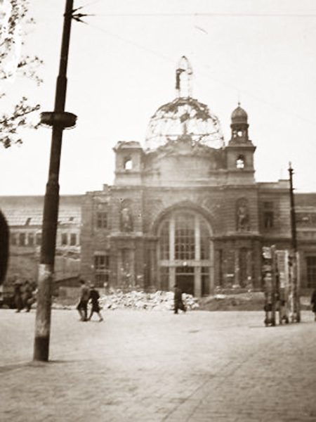 Zniszczenia w roku 1941