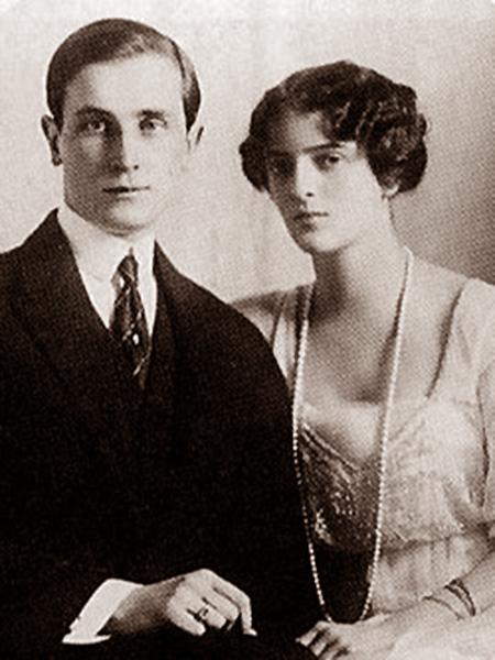 Książę Jusupow z żoną Iriną Aleksandrowną (Fot. Wikipedia)