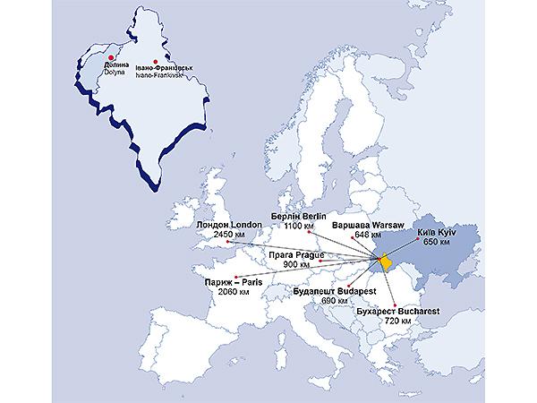 Walorem Doliny jest dogodne położenie geograficzne (Fot. Jurij Czernewyj)