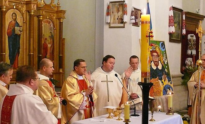 Mszy św. przewodniczył abp Mieczysław Mokrzycki (Fot. Konstanty Czawaga)