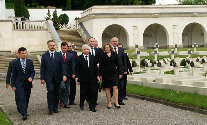Wizyta Jarosława Kaczyńskiego we Lwowie