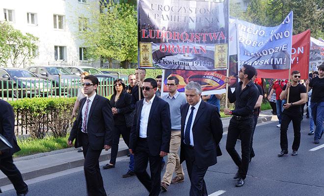 Warszawskie obchody 99. rocznicy Ludobójstwa Ormian