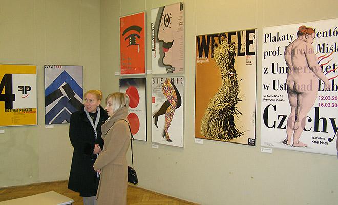 Wystawa plakatów Piotra Kunce we Lwowie
