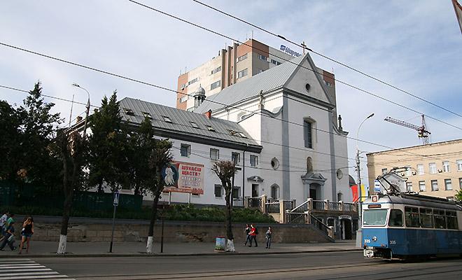 Winnicki kościół i klasztor oo. kapucynów (Fot. Dmytro Antoniuk)