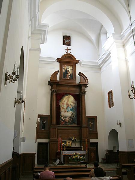 Ołtarz główny (Fot. Dmytro Antoniuk)