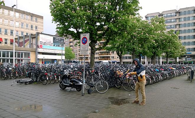 Miasto miliona rowerów (Fot. Eugeniusz Sało)