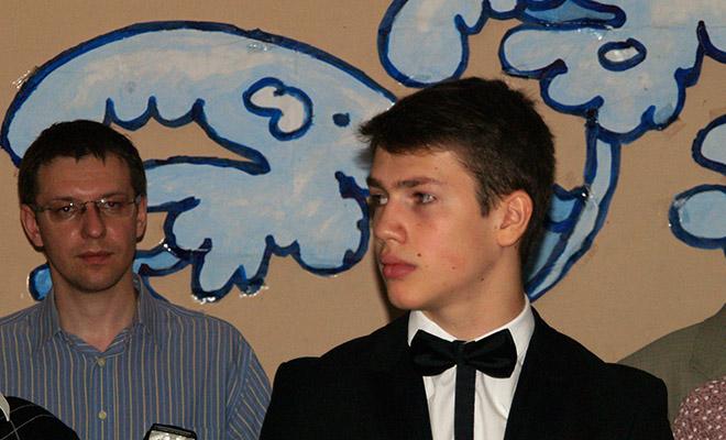 Srebrny medalista Robert Nester (Fot. Alina Wozijan)