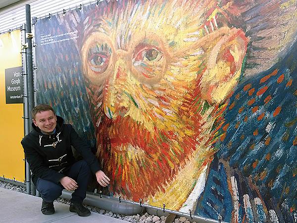 Muzeum Vincenta van Gogha (Fot. Eugeniusz Sało)