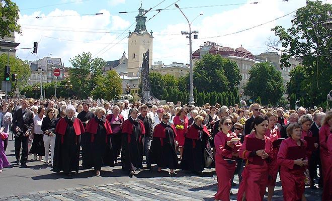 Uroczystość Bożego Ciała we Lwowie