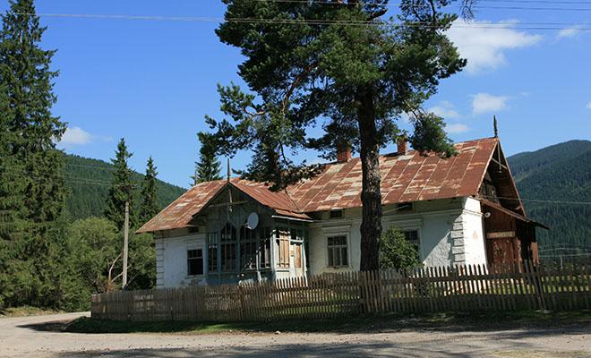 Zarządcówka, tzw. Hallerówka w Rafajłowej (Fot. Jan Skłodowski)
