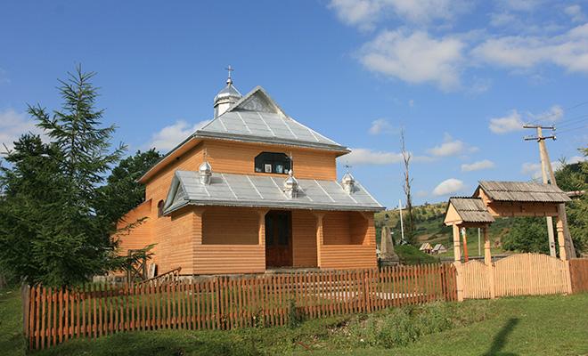 Kaplica w Rafajłowej, stan współczesny (Fot. Jan Skłodowski)