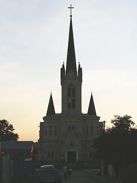 Kircha w Łucku (Fot. Elżbieta Zielińska)